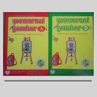 Buku Mewarnai Gambar A-B Untuk TK / PAUD
