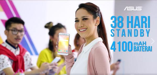 Zenfone™ 3 Max Masa Standby Mampu hingga 38 Hari