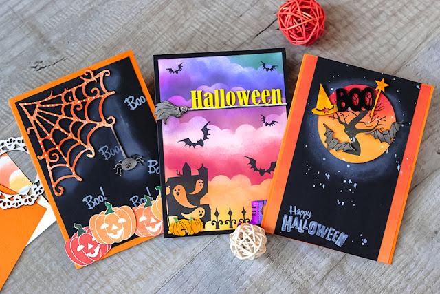 Scrapbooking, halloween, boo