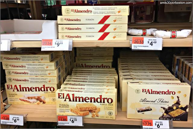 Dulces Españoles en los Comercios de Massachusetts