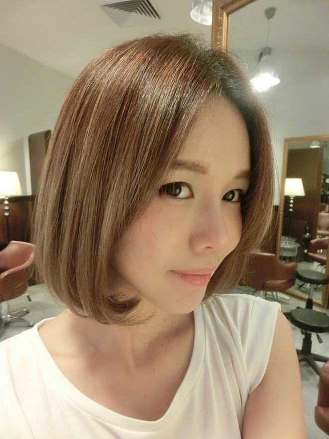 QiuQiu: My awesome ash brown hair