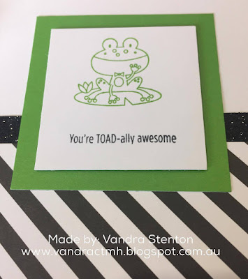 operation smile, cardmaking, pun, animals, lion, frog, annual inspirations, D1751, Punny Pals, #CTMHCatsandBats, Cats and Bats, Black & White, shimmer trim,