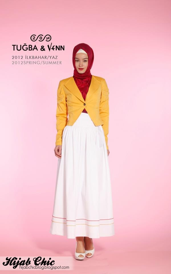 Hijab Chic: Tugba & Venn hijab fashion 2012 collection