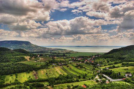 Danau Balaton, Hongaria