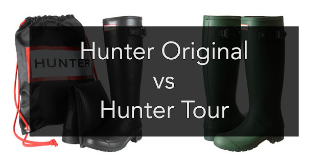 hunter review, hunter original, hunter tour, which hunter boot is better, rain boot review, are hunter tours better, pros and cons of different hunters, which type of hunter should i get,