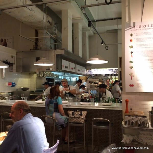 restaurant in Eataly in NYC