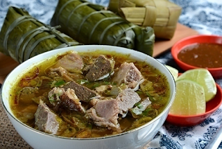 masakan tradisional soto makasar