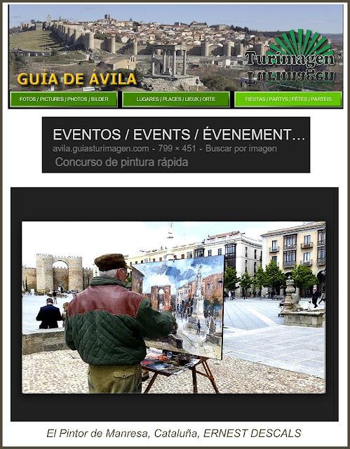 AVILA-GUIA-MONUMENTOS-EVENTOS-CONCURSO-PINTURA-FOTOS-PINTORES-ARTISTA-PINTOR-ERNEST DESCALS