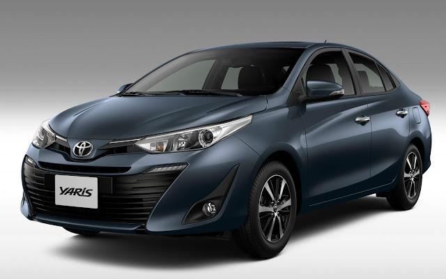 Novo Toyota Yaris 2019 - Sedã