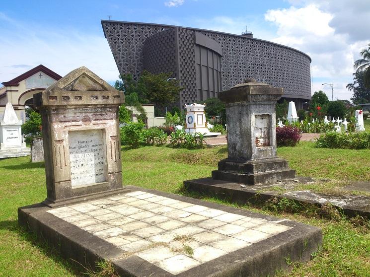 Hasil gambar untuk Tsunami Museum and Kerkhof Peutjoet Cemetery