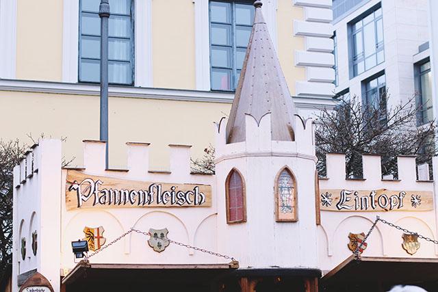 Munich medieval market