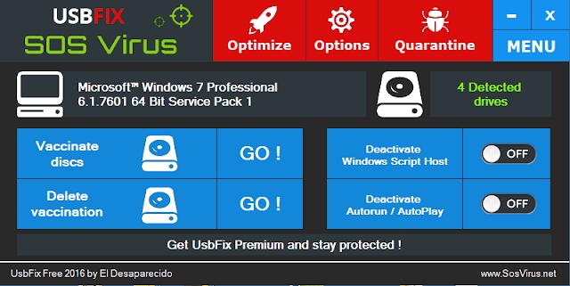 Usb Fix لحذف التطبيقات الضارة من ال USB وحماية من أخطار مفاتيح ال USB