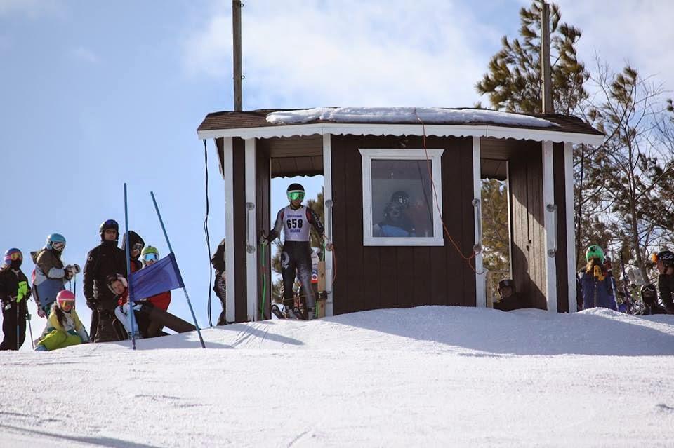 Skier number 658