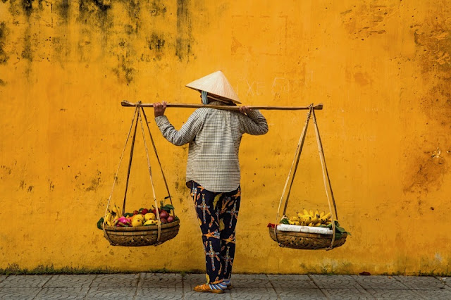 Photographs of Hoi An by photographer Réhahn in top Travel Magazine in UK 2