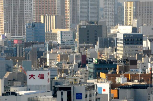 DE VELE GEZICHTEN VAN TOKIO