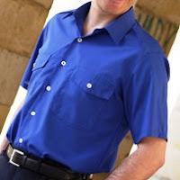 Más información : Camisa Uniforme de caballero de manga corta con dos bolsillos - NORVIL