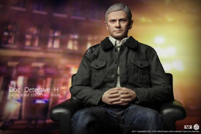 """osw.zone CGL Toys 1/6 Dr. Ing. Detective H 12 """"collector figure aka Martin Freeman as Doctor Watson"""