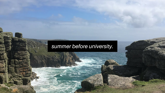 What To Do In The Summer Before University // Student Life