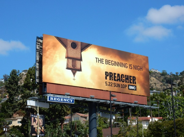 Preacher beginning is nigh billboard