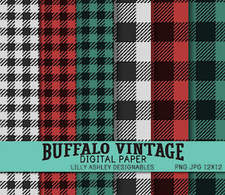 Free Buffalo Plaid Christmas Printable