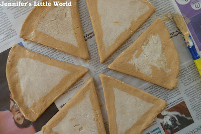 How to make salt dough and felt play pretend pizza
