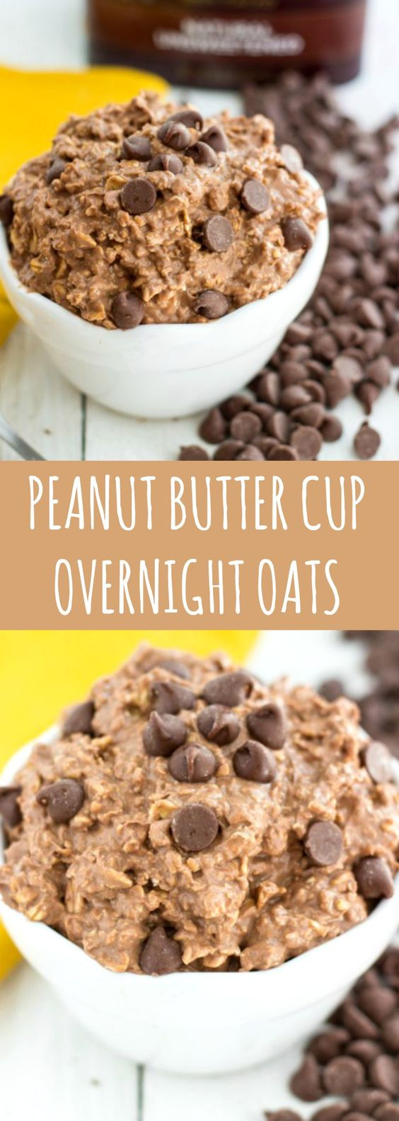 PEANUT BUTTER CUP OVERNIGHT OATS