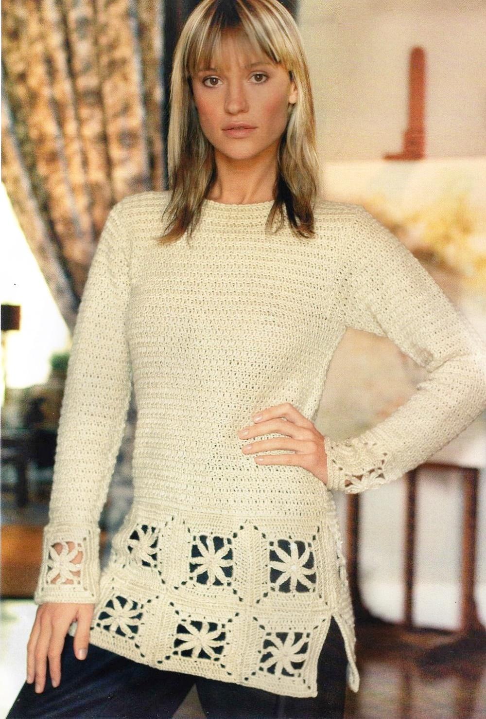 jersey ganchillo, suéter crochet, patrones para crochet