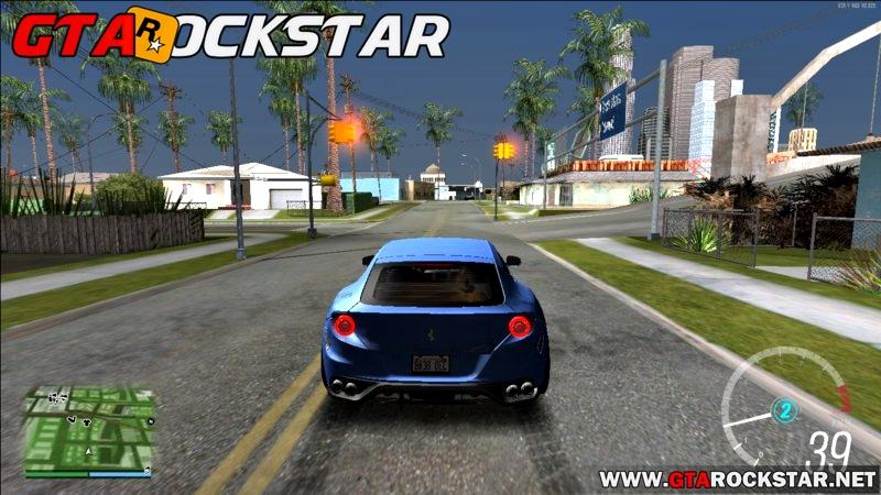 Mod Forza Horizon 3 Speedometer para GTA San Andreas