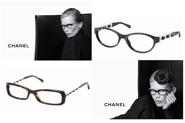 Chanel Eyewear by Claudia Schiffer