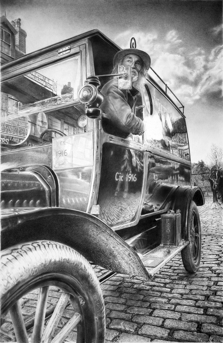 09-Old-car-110-working-hours-Franco-Clun-Drawings-that-save-the-Expression-and-Personality-of-the-Model-www-designstack-co