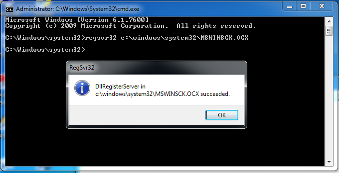 mswinsck ocx missing windows 7