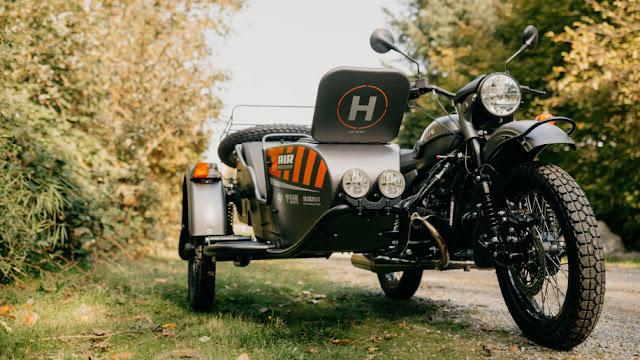 Biker Switchboard Media: Ural's newest motorcycle sidecar