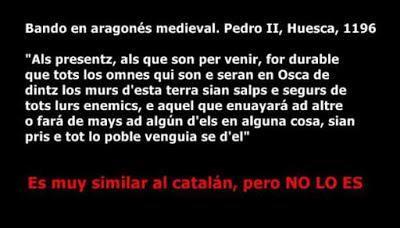 Pedro II, 1196, occitano, aragonés