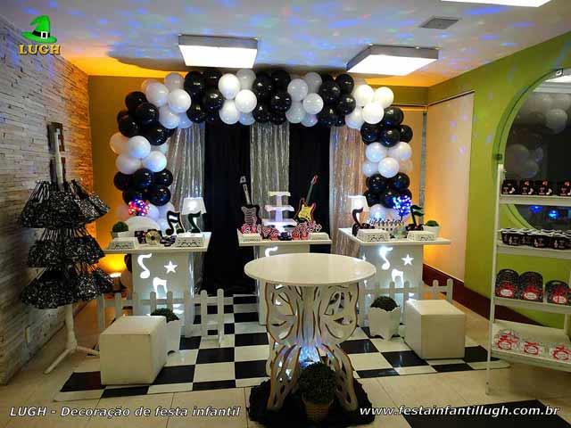 Decoração de aniversário Discoteca - Provençal simples