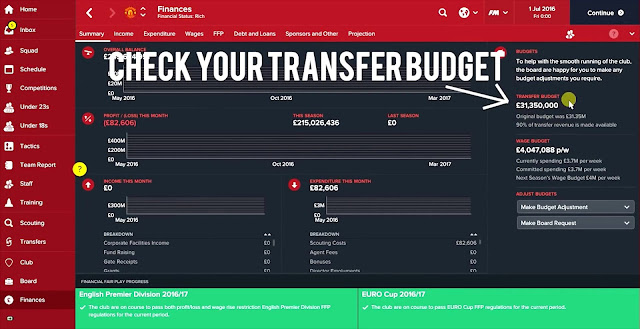 Football Manager 2017 Money Cheat