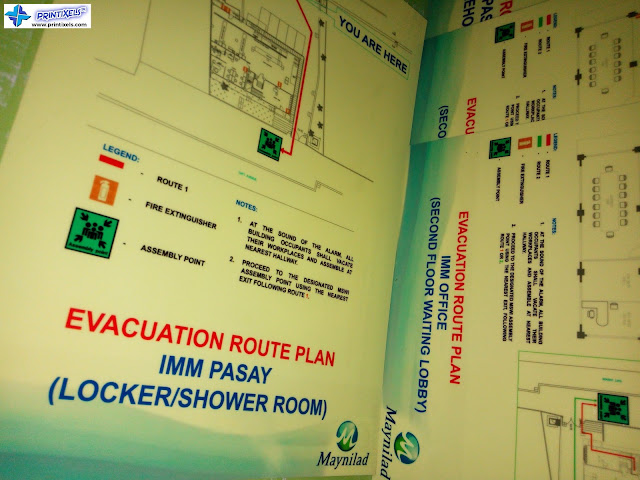 Glow in the Dark Evacuation Plans - IMM Pasay