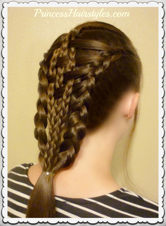 Checkerboard Dutch Braids Hairstyle Tutorial Easier Than It