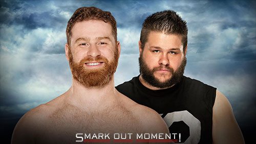 WWE Battleground 2016 Owens vs Zayn match