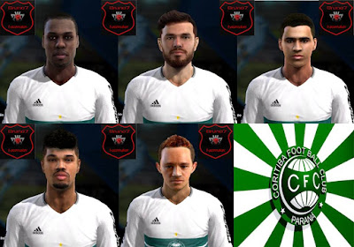 PES 2013 Facepack Extra CoritibaFC updt 2016 by bruno7facemaker