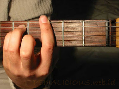 Cara Menekan Senar Chord G Minor