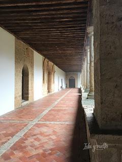 Monasterio Sancti Spiritus Toro claustro