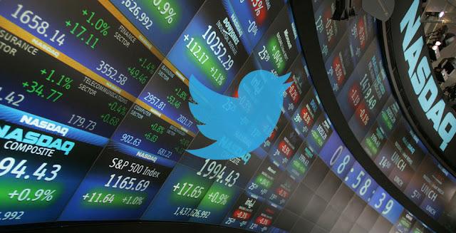 As ações do Twitter caíram mais de 13 por cento no pregão pré-mercado na segunda-feira.
