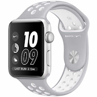 NIKE Jam Tangan Apple Watch Nike+ Sport Silver White ANDHIMIND