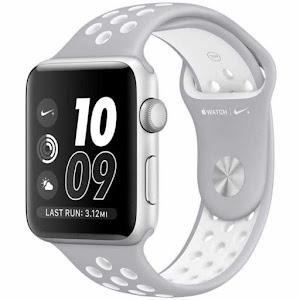 Jam Tangan Apple Watch Nike+ Sport Silver White