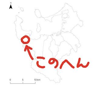 福岡市域図