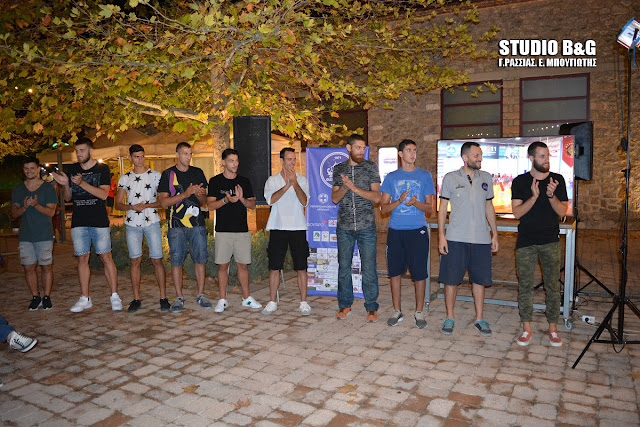 Παρουσίαση της Ανδρικής ομάδας του Οίακα Ναυπλίου
