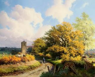 vistas rurales pinturas oleo