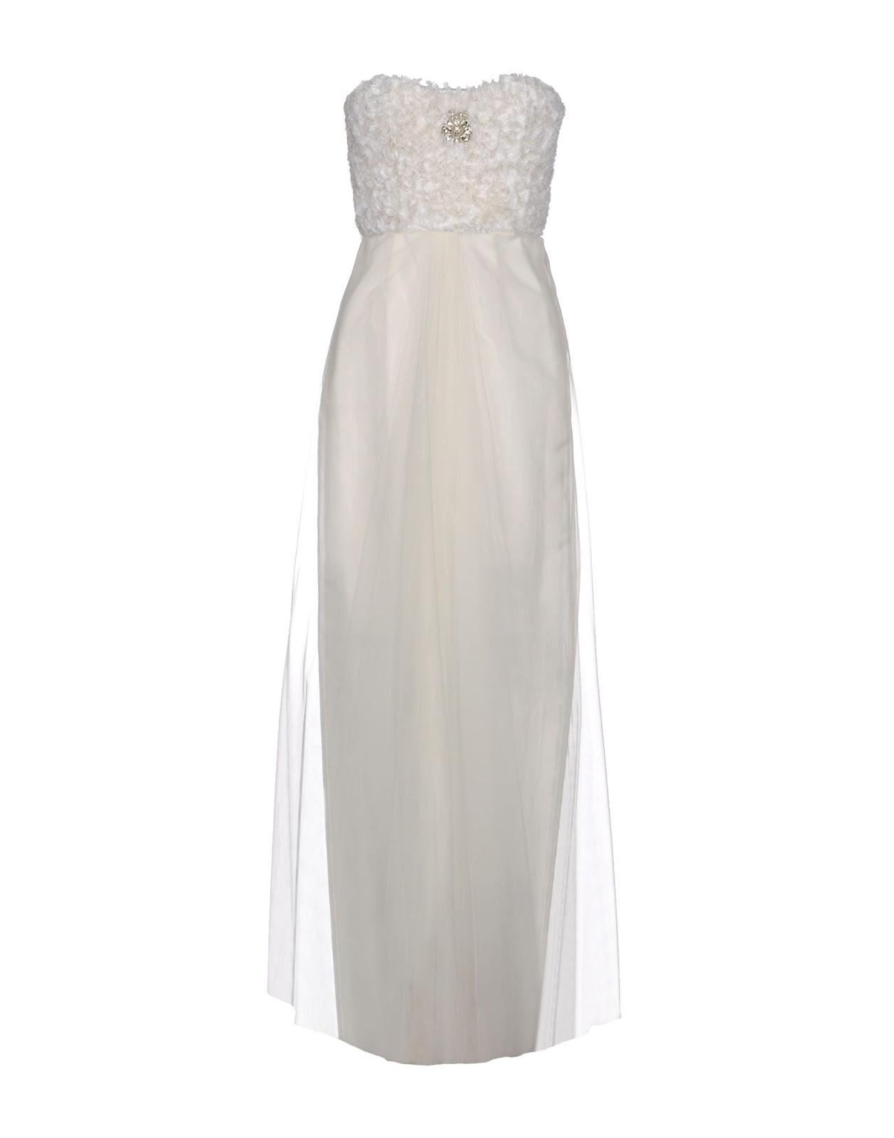 Yoox abito bianco