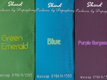 Ukuran Wide Shawl Exclusive by Papaglamz