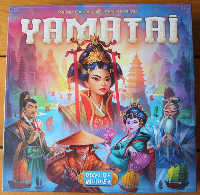 Yamatai box art - Random Nerdery board game review